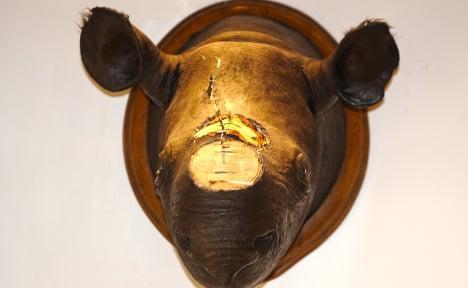 Police nab suspected rhino horn robbers