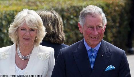 Charles and Camilla hit Stockholm