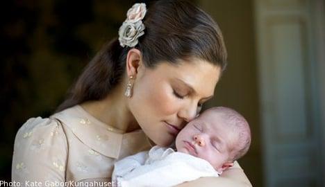 Royal Court releases new pics of Princess Estelle