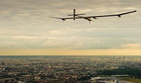 Swiss solar plane will try 48-hour flight to Morocco