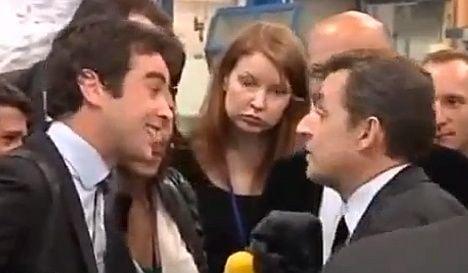Sarkozy to journalist: 'what a dickhead'
