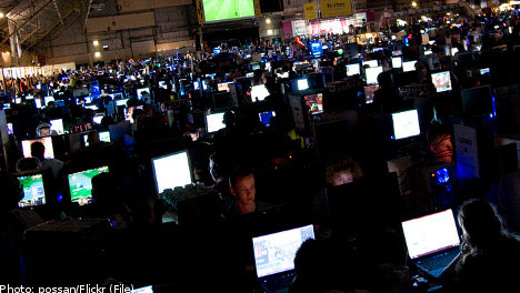 Gaming industry booming in Sweden