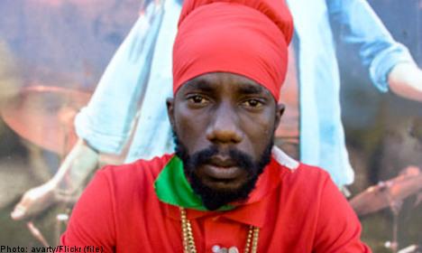 Reggae singer's lyrics spark Swedish outrage
