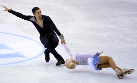 Drama on ice as Germans fight for medal