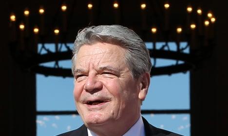 Gauck 'cannot meet all expectations'