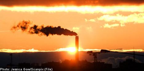 Swedish study warns of greenhouse gas threat
