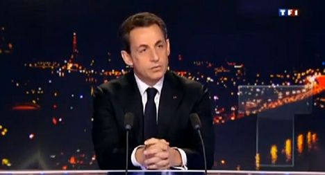 Sarkozy denies Qaddafi funding allegations