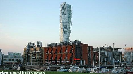 Malmö's Turning Torso landmark put up for sale