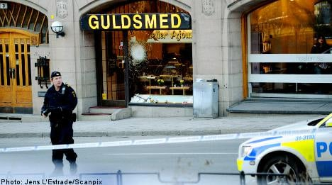 'Starting pistol' sparked wild Stockholm shootout