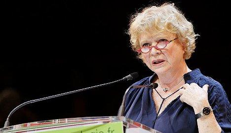 Eva Joly gets 'anti-greed' prize
