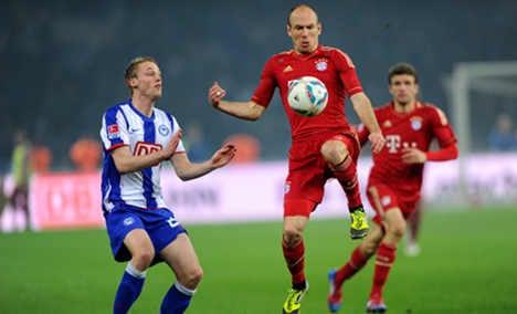 Bayern Munich make it 20 goals in three games