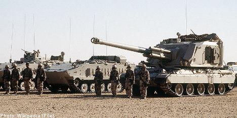Swedish military 'sold' arms to Saudi Arabia