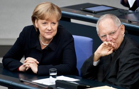 Merkel wants her finance minister in euro top job
