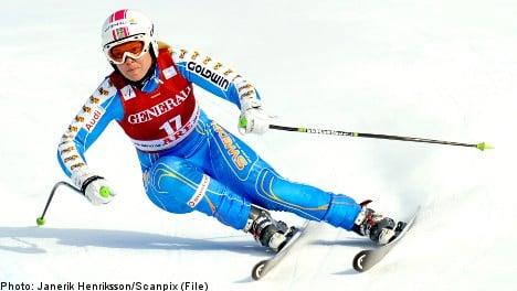 Swedish skier Anja Pärson calls it quits
