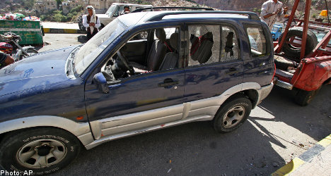 Teacher shot dead at Swedish school in Yemen