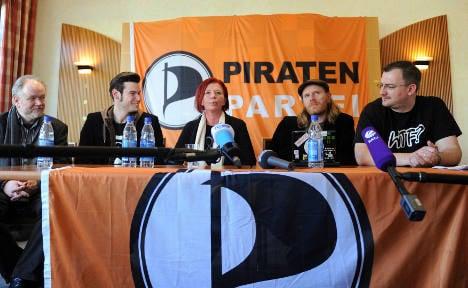 Pirate Party hacks Merkel's website