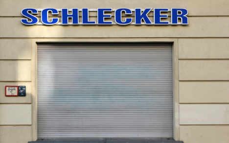 No financial help for bankrupt Schlecker