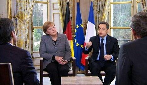 Sarkozy: Merkel won't campaign for me