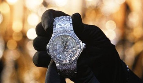 Hublot unveils world's most expensive watch