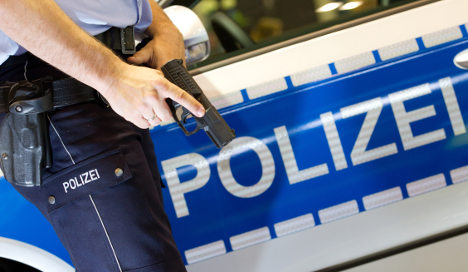 Cop shoots at cop in slapstick robbery