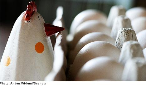 Sweden gets set for Easter egg frenzy