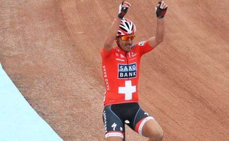 Cancellara breaks collar bone in Flanders fall