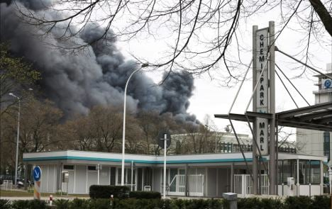 Chemical blast claims second victim
