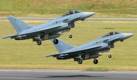 Luftwaffe scrambled in 'stolen' plane scare