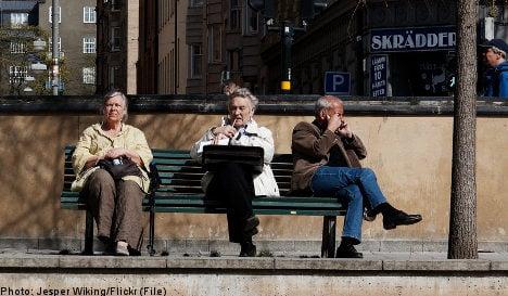 Sweden 'shuns' older workers: study