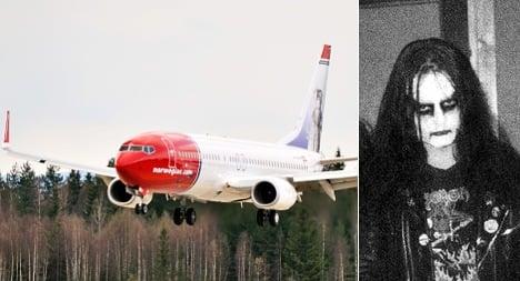 Black metal star's family says no to Norwegian tailfin honour