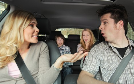 Parents get road rage as holiday jams loom