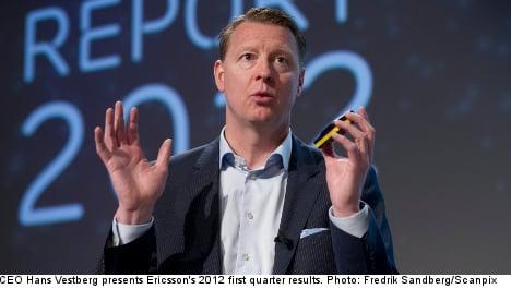 Ericsson profits double on sale of Sony stake