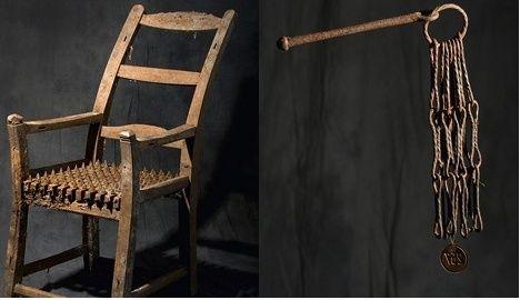 Torture instrument sale suspended after protests