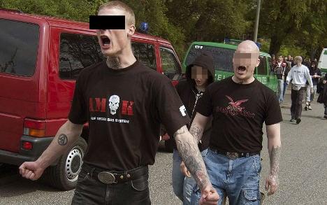 Fugitive neo-Nazi arrested after shooting