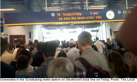 Stockholmers stranded as outage stops trains