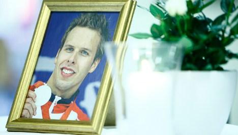Norwegian swimming champ dies in shower