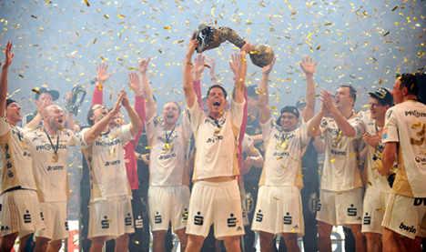 Kiel handballers triumph in Champions League
