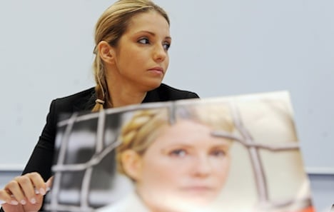 Tymoshenko's daughter to make pleas in Berlin