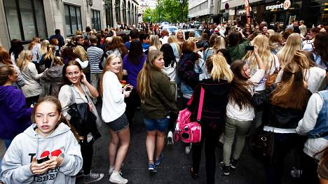 Eager Bieber fans set to flock to free gig