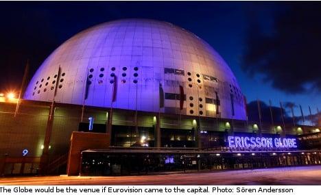 Stockholm mayor jumps at Eurovision chance