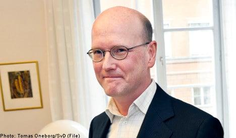 Ex-minister snags top Swedish banking job