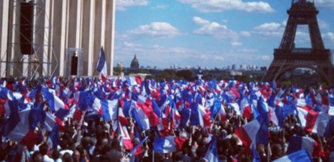 How many were really at Sarkozy's rally?
