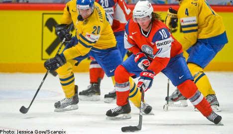 Sweden beat Norway in hockey worlds opener