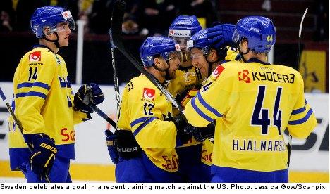 Co-hosts Sweden hope to snag ice hockey gold