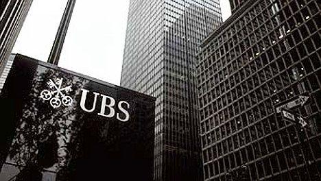 Big profit fall for UBS