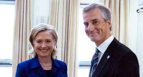 Hillary Clinton set for two-day Oslo visit