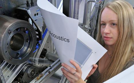 Saxon scientists make 'printable speaker'