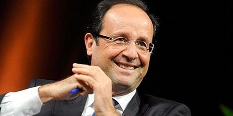 Sarkozy ejected by jubilant Hollande