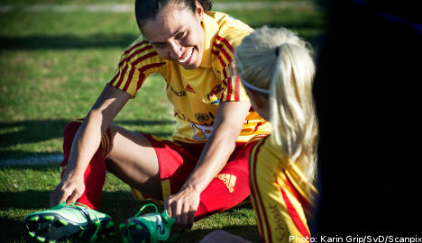 Player strike threatens Swedish pro football