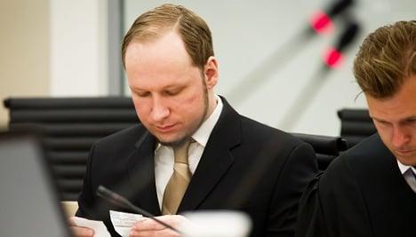 Breivik had nose job to look 'more Aryan'